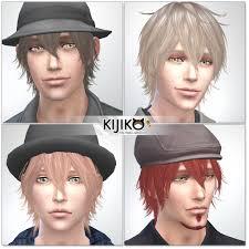 my sims 4 blog kijiko night fog hair for males
