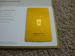 starbuck gold card so my starbucks gold card arrived today imgur