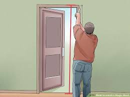 Magic Mesh Curtain How To Install A Magic Mesh With Pictures Wikihow