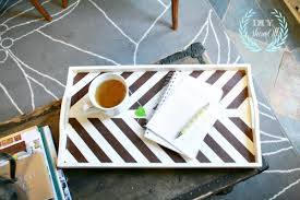 painted serving platters thrift store tray makeover using paint and frogtapediy show