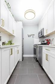 black bottom and white top kitchen cabinets 9 space enhancing ideas for your galley kitchen remodel
