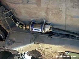 jeep horizons grand cherokee zj in tank fuel pump bypass