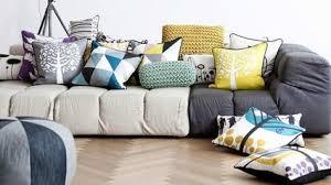 coussins originaux canapé coussin decoratif excellent ikat velvet pillow silk cousin from