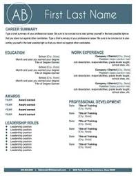 Teacher Resumes That Stand Out Resume Templates That Stand Out Resume Ideas