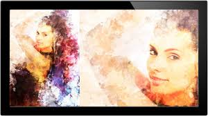 how to turn portrait into painting in photo a phlearn how to turn portrait into