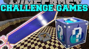 minecraft haunted sword challenge games lucky block mod