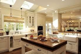 kche landhausstil küche kochinsel landhausstil weiß oberlichter interior