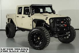 jeep trucks for sale jeep wrangler bandit 7 0 hemi supercharged lifted