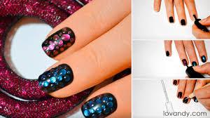 do it youself water drop nail art tutorial