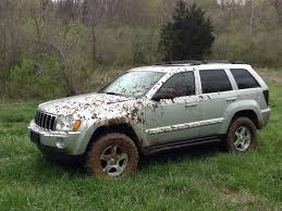 jeep commander lifted 05 grand cherokee 4