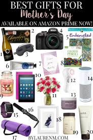 Best Mother Days Gifts Best Mother U0027s Day Gifts With Amazon Prime Now By Lauren M