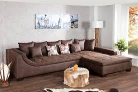 canapé angle convertible marron heavenly salon marron chic ensemble meubles by canape d angle