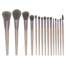 elegance lavish elegance 15 piece makeup brush set bh cosmetics