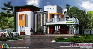 stylish contemporary home architecture kerala home design