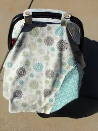Free Carseat Canopy Pattern by Car Seat Canopy Cutesy Crafts