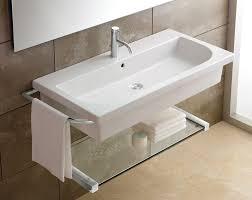 Narrow Sinks Kitchen Bathroom Small Wall Mount Sink Homesfeed Narrow Bathroom Toronto