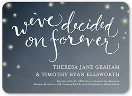 wedding invitations shutterfly decided on forever 5x7 wedding invitations by yours truly