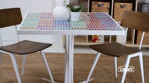 how to make a mosaic table top how to make a mosaic table top youtube