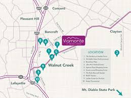Mt Diablo State Park Map by Nearby Attractions Viamonte Senior Living