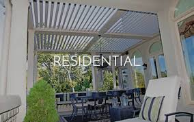 Automatic Patio Cover Louvered Pergolas Motorized Outdoor Structures And Patio Covers
