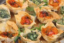 canap pumpkin canapé selection ontray catering