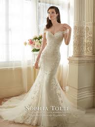 the shoulder wedding dresses y11634 loraina mon cheri bridals