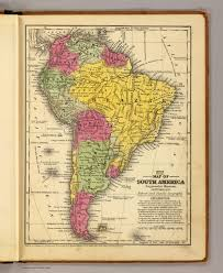 The Map Of South America by South America David Rumsey Historical Map Collection