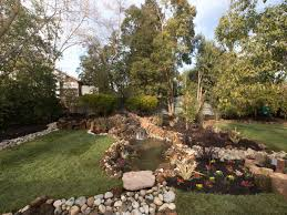 totally unusual backyard ponds pools and fountains dry creek