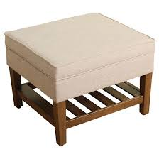 threshold ottomans u0026 benches target