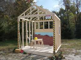 childrens outdoor wood playhouses main street collection lilliput