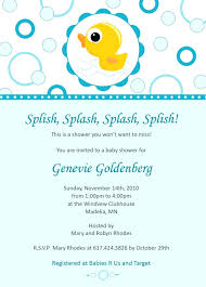 duck baby shower invitations template duck baby shower invitation template rubber wording