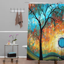 Bed Bath And Beyond Tree Shower Curtain Yellow And Navy Shower Curtain Shower Curtain In Custom Blue