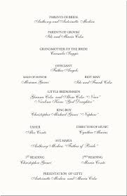 wedding reception program template wedding program template 64 free word pdf psd documents wedding