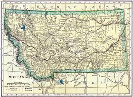 Map Of Montana State by Montana Genealogy U2013 Access Genealogy