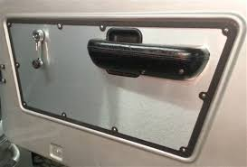 79 Ford Bronco Interior Interior Door Panels Brushed Aluminum Early Ford Bronco 1968 77