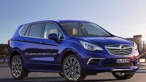 buick opel buick envision rendered as next gen opel antara