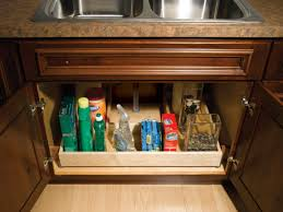 kitchen sink organizer under sink pull out drawers kitchen