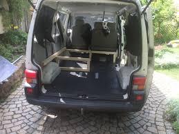 volkswagen minivan 2016 interior vw t4 project u2013 interior construction u2013 realization