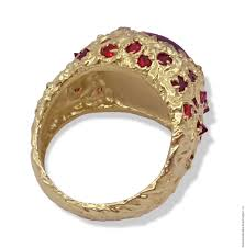 golden rings online images Golden ring quot flame of fire quot ruby spinel and sapphire gold ruby jpg