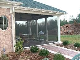 Motorized Screens For Patios Motorized Disappearing Screens