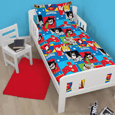 Superman Bedroom Decor by Official Dc Comics Duvet Cover Sets Wonder Woman Batman Superman