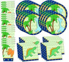 dinosaur birthday party supplies dino dinosaur birthday party supplies set