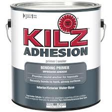 kilz 1 gal adhesion bonding primer l211101 the home depot