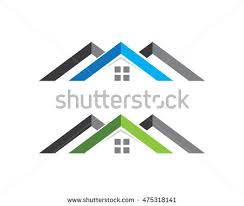 Home And Design Logo Real Estate Property Construction Logo Design Stock Vector