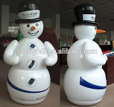 outdoor decorations standing moving santa snowman buy