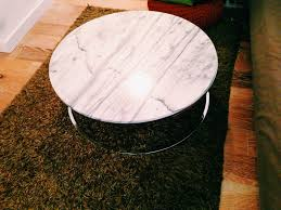 Cb2 Coffee Table by Cb2 Smart Round Marble Top Coffee Table Http Www Cb2 Com Smart