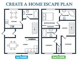 How To Design A Floor Plan Fire Escape Plan Emc Security