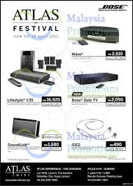 bose v35 home theater system atlas festival bose promotion offers 7 u2013 14 apr 2013