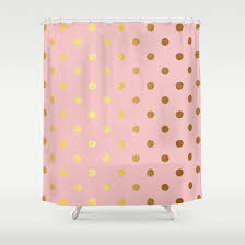 lisa argyropoulos girly pink snowfall shower curtain girly tubs