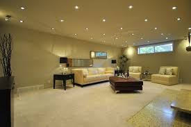 can lights in living room basement using 3 or 4 recessed lights with gu10 bulbs for